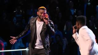 "Bryan vs Malik ""IT'S A MAN'S MAN'S MAN'S WORLD"" - The Voice 2016"
