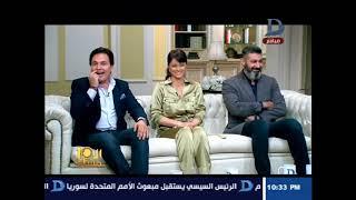 """محمد رياض: يروي تفاصيل عمله مع ياسر جلال فى مسلسل""""رحيم"""" وتعليق ساخر منه على """"شعره الأبيض"""""""