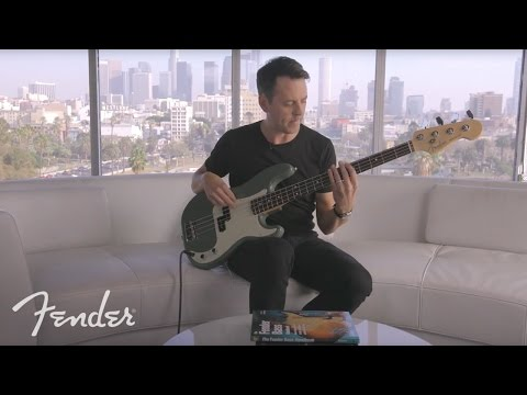 Sean Hurley On the Fender American Professional Precision Bass | Fender