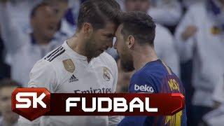 Sukob Mesija i Ramosa na El Klasiku   Real - Barselona   SPORT KLUB Fudbal