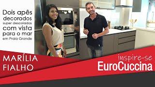 Marilia Fialho no Inspire-se EuroCuccina Residencial Itália
