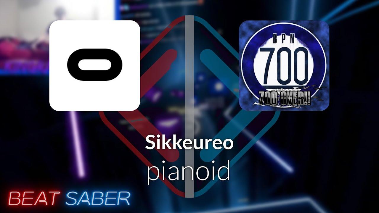 Beat Saber | KingRazer | pianoid - Sikkeureo [Expert] 4 Misses #1 | 93.75%