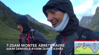 UTMB 2017 - Philippe and Olivier with English CC