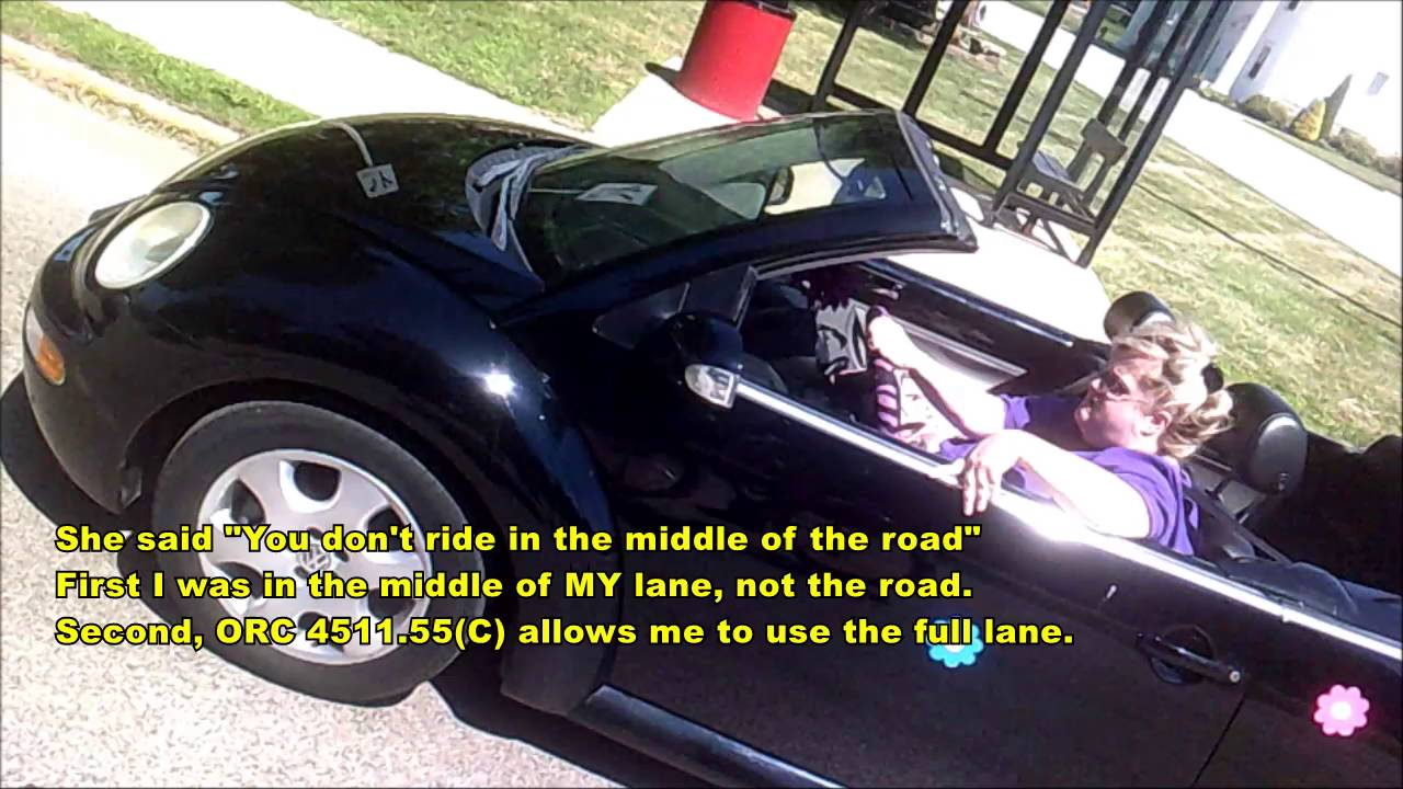 illegal/dangerous pass into oncoming traffic: (ohio ezy 4115) 7-15