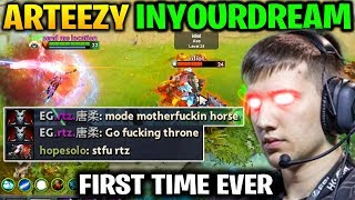 ARTEEZY vs INYOURDREAM - THE FIRST TIME THEY MET Dota 2