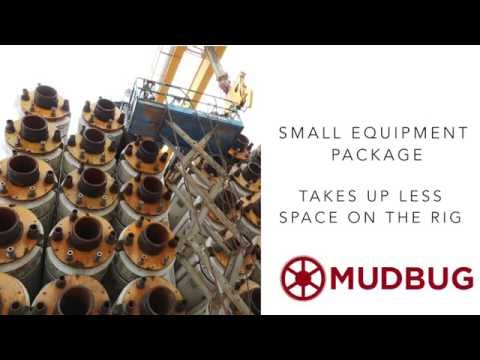 MudBug: Waterless Production and Drilling Riser Cleaning Tool by Chet Morrison Contractors