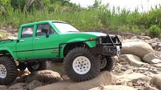 RC4WD TRAIL FINDER 2 LWB Toyota Hilux #4 │On the Rock Trail