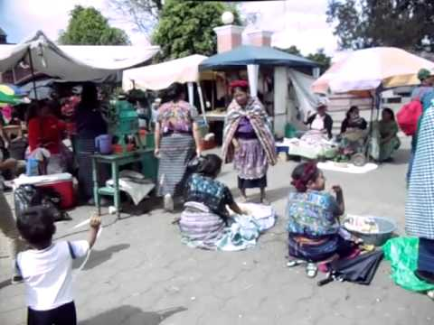 Santa Maria de Jesus Guatemala Market