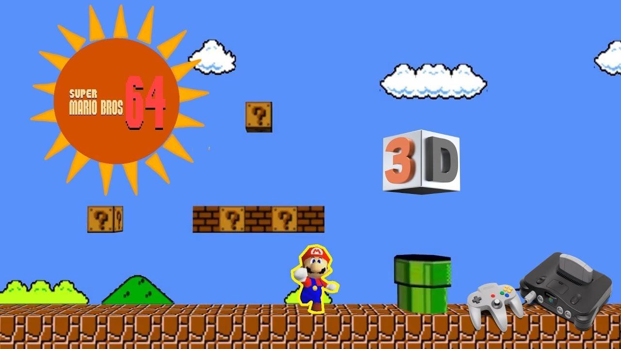 Super Mario Bros 64 N64 Rom Hack