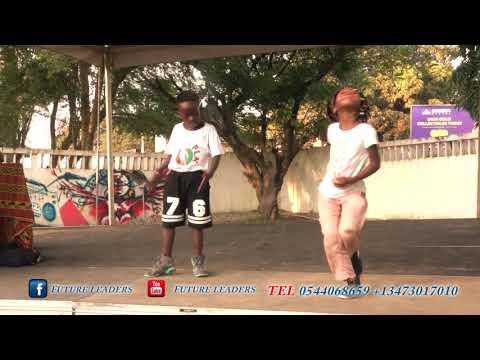The Youngest Couple Dance in Ghana by Future Leaders Kids