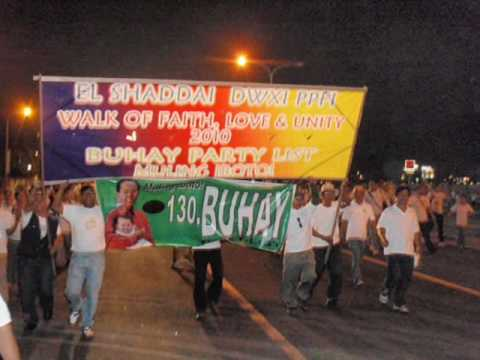 EL SHADDAI WALK OF FAITH 2010