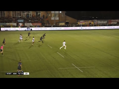 Match Highlights | Newcastle Falcons v Leicester Tigers