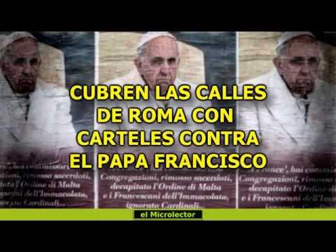 Resultado de imagen de Roma, donde sus calles fueron cubiertas con centenares de carteles, en los que sus autores acusaban al papa de tirano