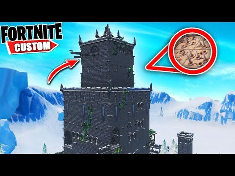 Fortnite INSANE Ice KING Deathrun.. Can you BEAT the ICE Kings TOWER!? (Fortnite Creative Mode)