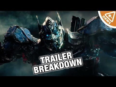 7 Things You Missed in the Transformers The Last Knight Trailer! (Nerdist News w/ Jessica Chobot)