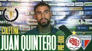[Cearense A '19] Coletiva Juan Quintero   Pré-jogo Guarany SC X Fortaleza EC   TV ARTILHEIRO