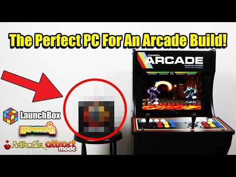 "The Perfect PC For An Arcade Build! ""New Parts Build"""