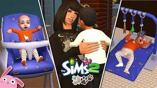 Reto De Los 7 Biberones Y Más Los Sims 2 Ep 1