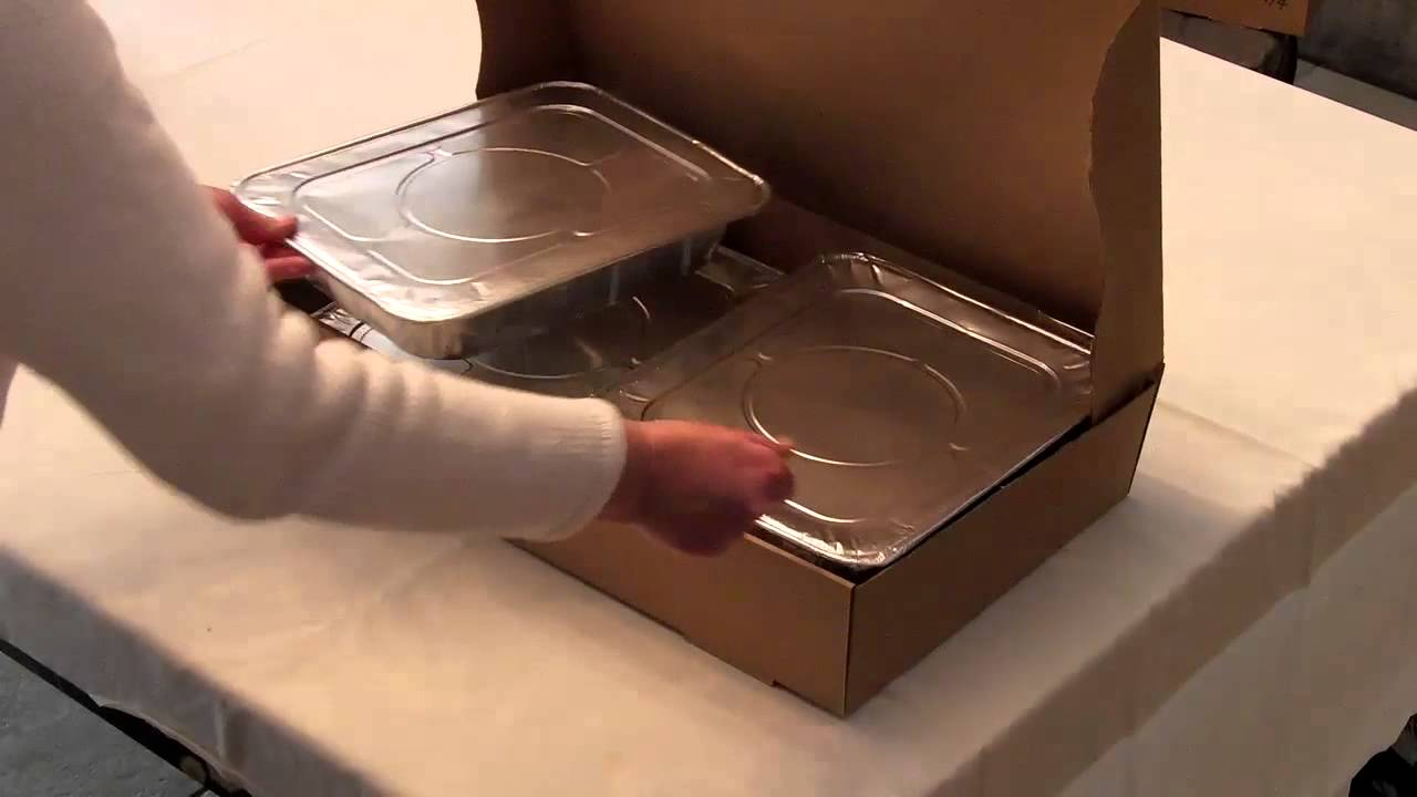 The Catering Box Jumbo - 4 Trays Demo