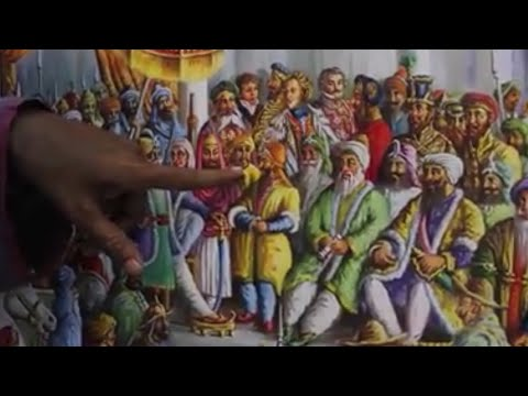 Original Painting of Sikh Empire and what was going on at that Time.
