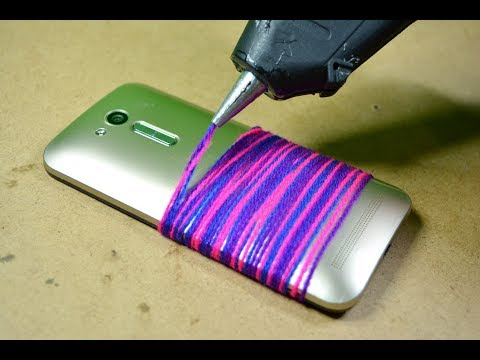 unique way of making mobile phone case