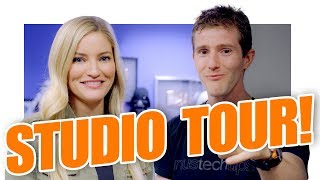 Linus Tech Tips INSANE Studio Tour! thumbnail