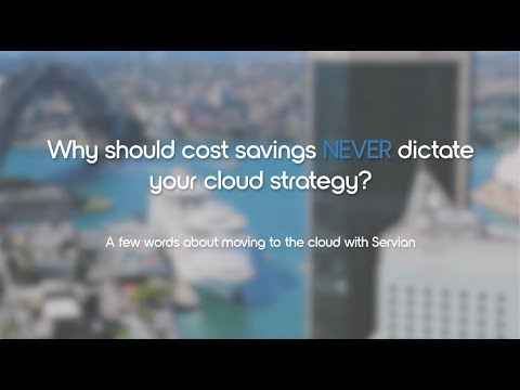 Moving To The Cloud With Servian