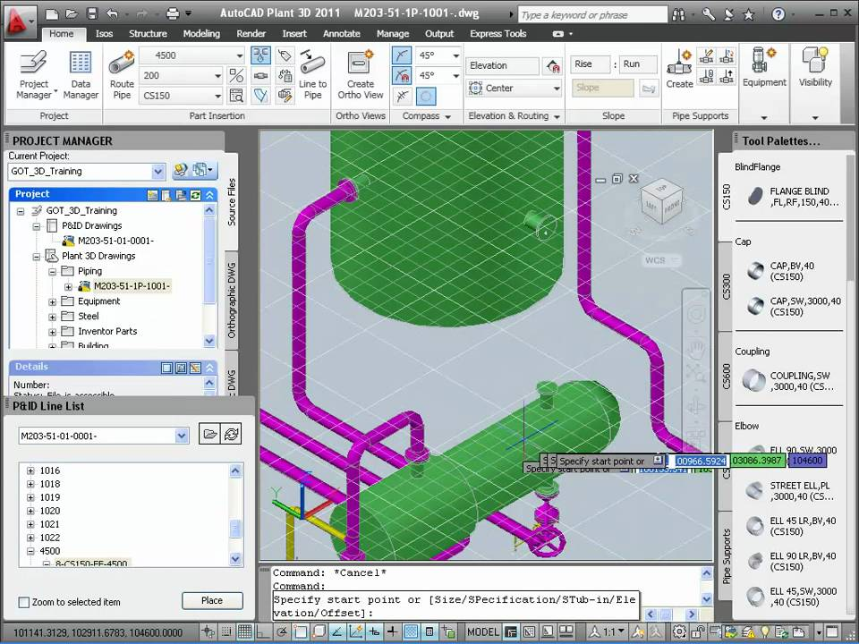P&ID Data in AutoCAD Plant 3D - YouTube