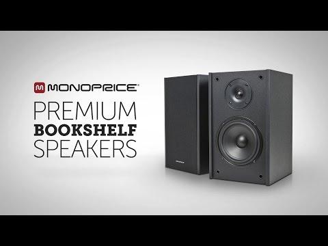 Premium Bookshelf Speakers from Monoprice