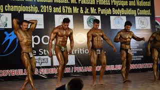 Mr. Pakistan and Mr. Punjab Final posing 2019 67th #Bodybuilding Competition in Lahore