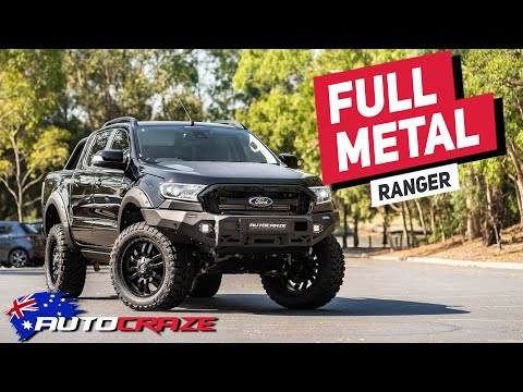 FULLMETAL RANGER (2019 FORD RANGER BUILD) - Wheels, tyres, 4x4 accessories & more!