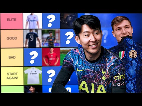 WE RANKED YOUR CLUB'S OFFICIAL NEW KITS (AWFUL)! | One On One