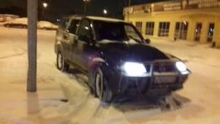 Зимний дрифт на полном приводе.(Муссо, покатушки по парковке., 2016-12-04T22:29:25.000Z)