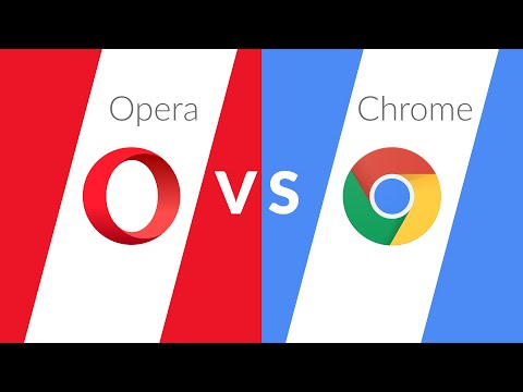 Opera vs. Chrome | I Switched To Opera For 1 Week!