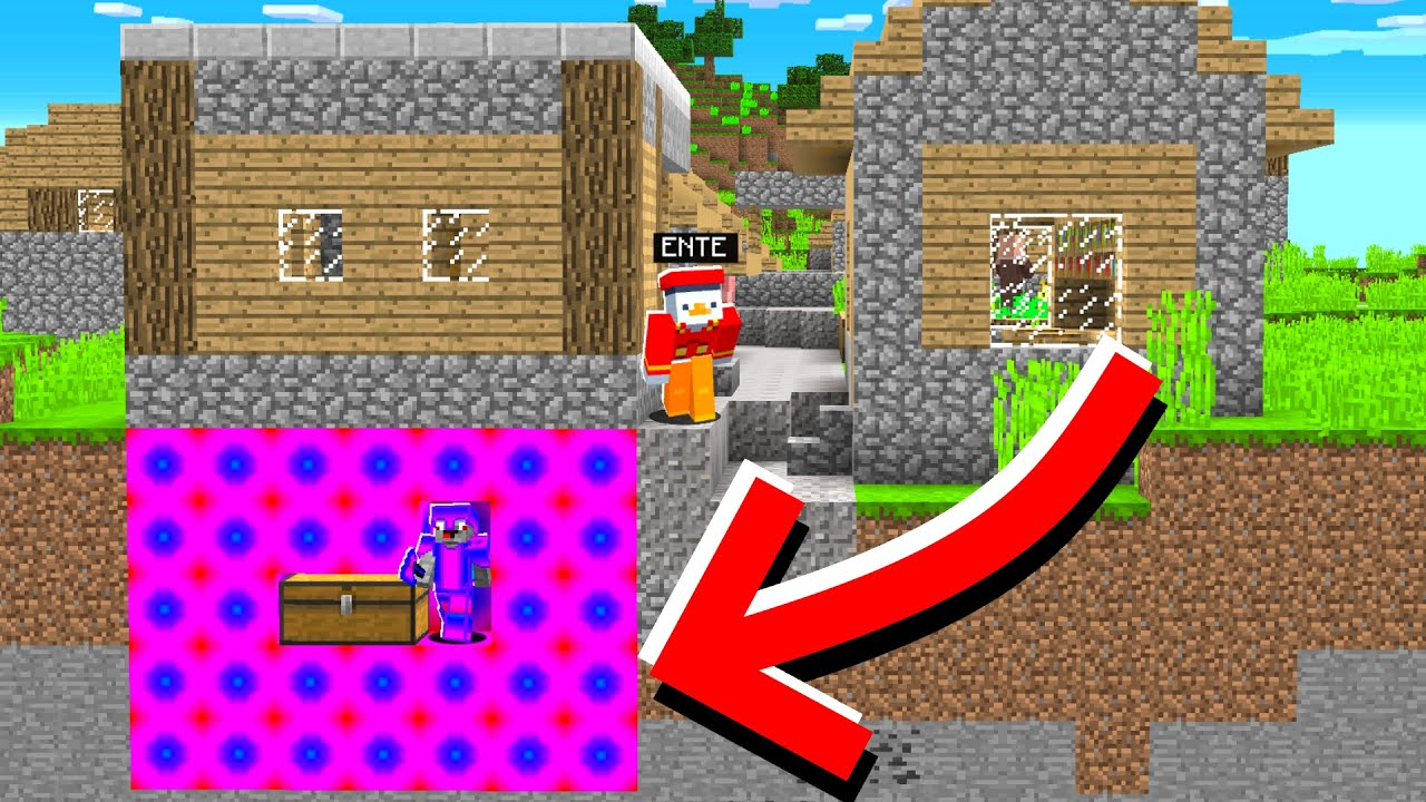 ich verstecke SHADE unter VILLAGER HAUS - Minecraft [Deutsch/HD]