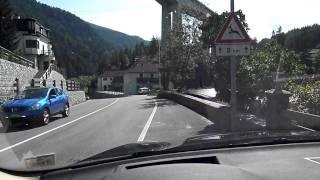 Around Munich and off Exit 97 at Deutsche Alpenstrasse past  Tegernsee and on into Austria.