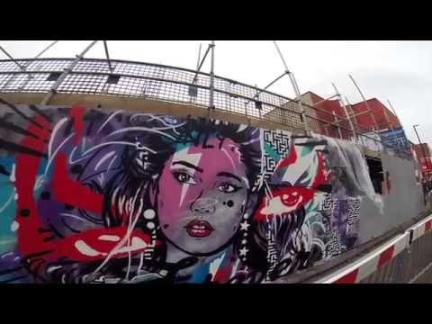 The Bristol diaries ° UPFEST the biggest street art festival in Europe °