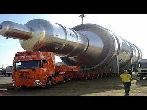 Невероятный перегруз! Огромные тягачи.