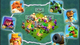 GEMMING EVERY NEW TROOP TO MAX IN THE CLASH OF CLANS BUILDER'S BASE!
