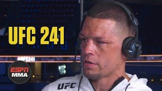 Nate Diaz Reflects On Win Vs. Anthony Pettis  UFC 241 Post Show  ESPN MMA