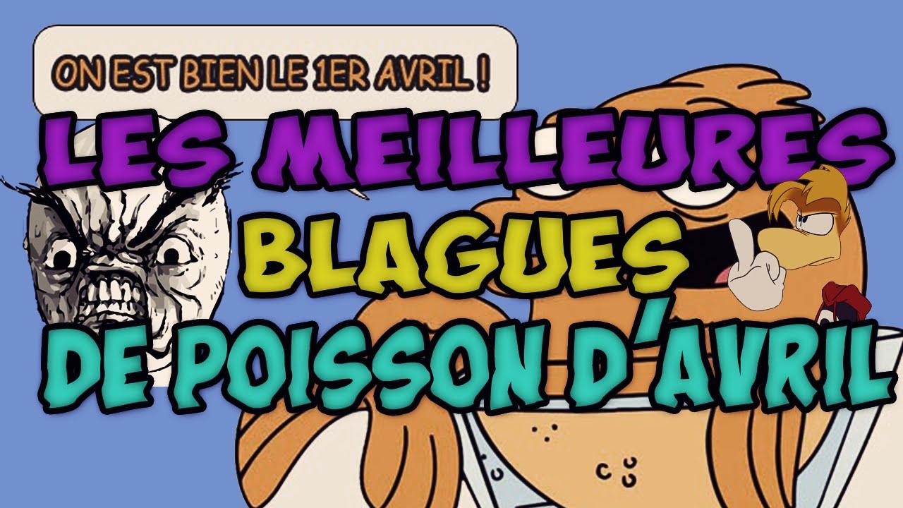 LES MEILLEURES BLAGUES DE POISSON D'AVRIL ! - YouTube