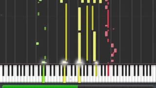 Tutorijali za klavijaturu. Rade Petrović - Pastirica (fast) Synthesia