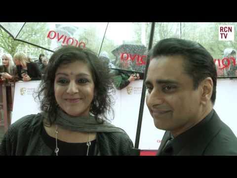 Sanjeev Bhaskar & Meera Syal   The Kumars Return  BAFTA TV Awards 2013