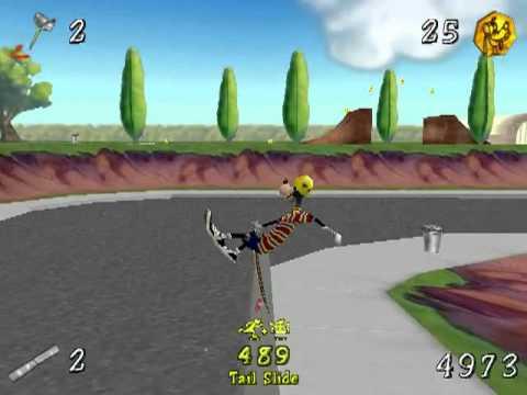 Gaming with Netbooks: Disney's Extremely Goofy Skateboarding