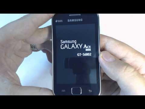 Samsung Galaxy Ace Duos S6892 - How to reset - Como restablecer datos de fabrica