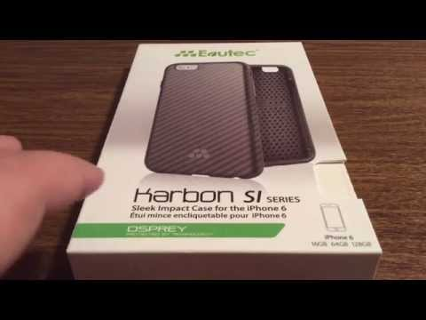 Evutec Brand New Karbon SI Series iPhone 6/6S Case with DuPont Kevlar Review