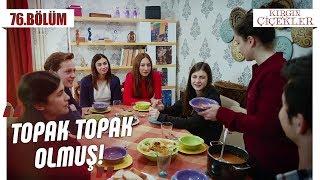 Songül'ün evinde ilk akşam yemeği! - Kırgın Çiçekler 76.Bölüm