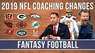 NFL Head Coaching Moves | 2019 Fantasy Football Impact