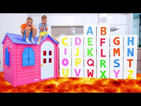 ABC Học bảng chữ cái tiếng Anh với Vlad và Niki