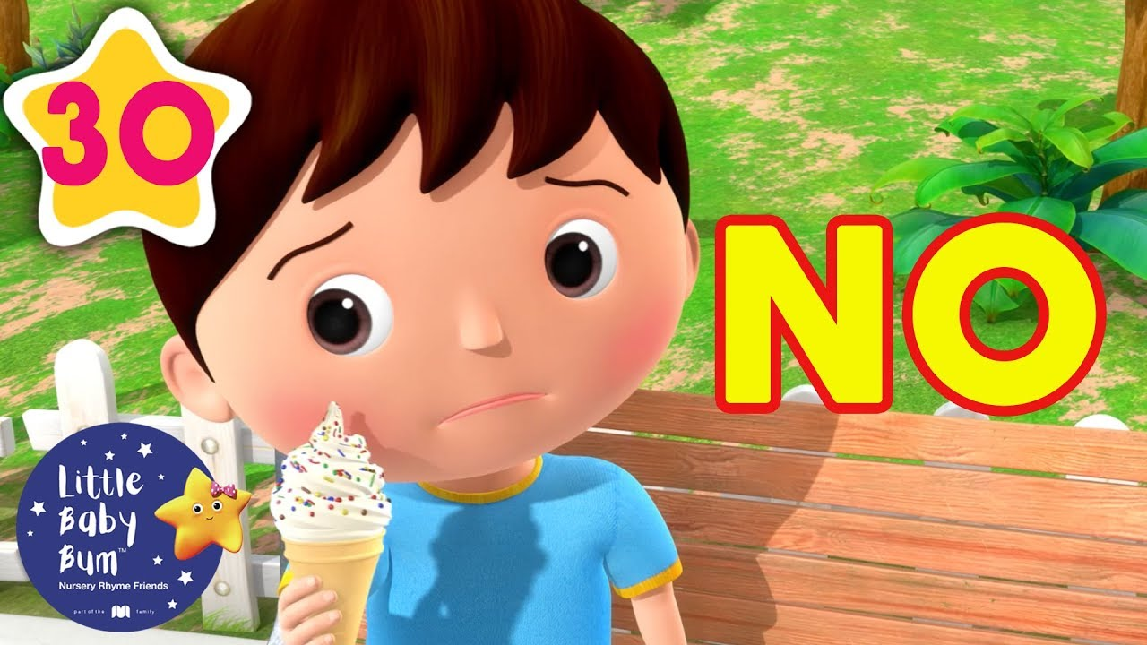 No, No, No I DON'T Want To say Thank You! | Kids Songs | Little Baby Bum | ABCs and 123s